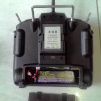 Lipo 2S 2200 Mah 8C Untuk Futaba 8FG, T6J, Frsky Taranis X9D