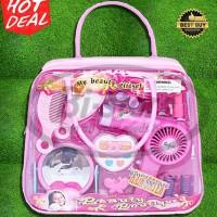 Beauty Boutique Gift Set Mainan salon anak perempuan A297 Tas Sedang