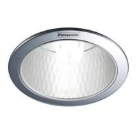 "Downlight Plafon E27 Panasonic NLP72431 5"" Reflector Diamond"