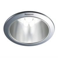 "Downlight Plafon E27 Panasonic NLP72430 5"" Silver Reflector Specular"