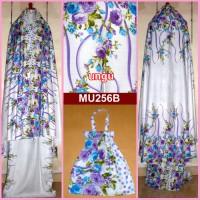 harga Mukena Bali Jumbo Mawar Cantik Dasar Putih- MU256 Tokopedia.com