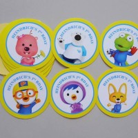 Sticker 1pack Pororo and friends
