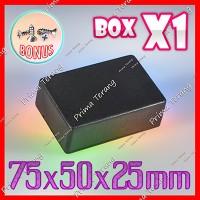 Box Hitam X1 Kotak Plastik Casing Komponen X-1