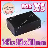Box Hitam X5 Kotak Plastik Casing Komponen X-5