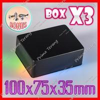 Box Hitam X3 Kotak Plastik Casing Komponen X-3
