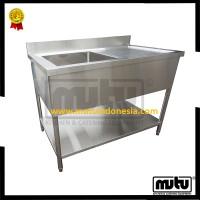 harga KCS-15R Tempat Mencuci Piring Restoran Stainless / Kitchen Sink Mutu Tokopedia.com