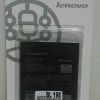 Batre Battery Lenovo S880 K860 S850 S890 BL198 Original 99% Baterai