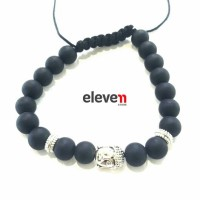 Premium Bracelet Anil Arjandas Buddhatobuddha Stone Hematite Import