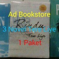 Paket 3 Novel (Hujan,Rindu &Pulang) Tere Liye