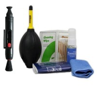 Rajawali Cleaning Kit 9 in 1 with Lenspen - Pembersih Kamera