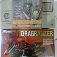 SHF Kamen Rider Ryuki Survive & Dragranzer BIB Set Only