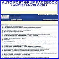 SOFTWARE AUTO POST GRUP ANTI BLOKIR
