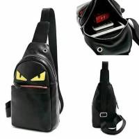 Tas Sling Waist Bag Fendi Monster Premium