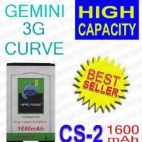 Baterai HP Blackberry Hippo CS-2 1600mAh ( Gemini / Curve )