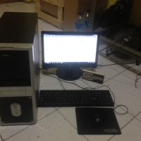 Komputer PC Core 2 duo full set super ekonomis