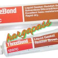 Three bond 1207 C,Non Solvent Red silicone based,Threebond TB 1207C