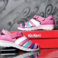 harga kickers women sepatu sandal cewek model wedges Tokopedia.com