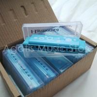 Harmoinka harmonica 10 hole taoysmith warna softblue