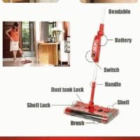 Swivel Sweeper,sapu eletrik,membersihkan rumah praktis