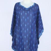 harga Blouse Kalong Chiffon / Baju Atasan Kelelawar Model Batwing K07 Blue Tokopedia.com