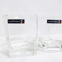 Gelas Minum / Drinking Glass Kaca Bening Luminarc Sterling 200 ML 6 pc