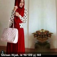 harga Shireen set hijab maxi Gamis Syari Bergo Kaftan Busana Muslim Tokopedia.com