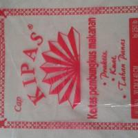 Kertas pembungkus makanan cap kipas