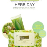 The face shop - herb day cleansing tissue 70 sheets