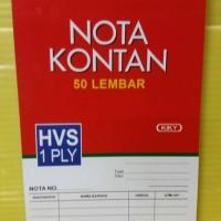 Kiky Buku Nota Kontan 1 Ply Kecil