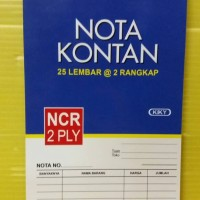 Kiky Buku Nota Kontan 2 Ply Kecil