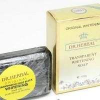DR . Herbal Transparent Whitening Black Soap Original