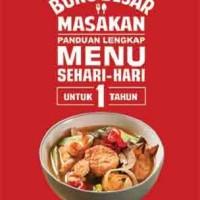 Buku Besar Masakan; Panduan Lengkap Menu Sehari-hari untuk 1 Tahun
