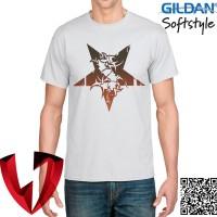 Kaos Band Metal - Sepultura Logo 02 - Original Gildan