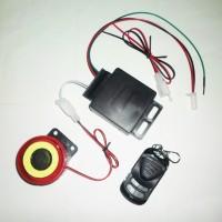 Alarm Motor + Remote (Kunci Sensor, Gembok Rahasia, Pengaman)