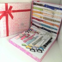 Jam Tangan Since 2 Jam 21 Tali Gift Box / Box Kado