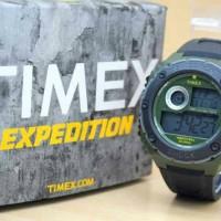 Jam Tangan Timex Expedition Digital list Hijau