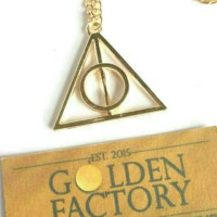 [33] Deathly Hallows Luna Lovegood Necklace Harry Potter
