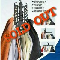Magic Cloth Hanger Gantungan Baju Praktis Rapi Multifungsi Portable