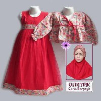 Cutetrik baju muslim Anak 8-12th