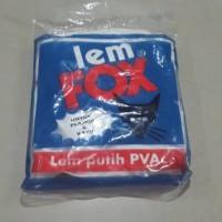 LEM FOX SACHET BIRU 350GR/ lem white latex glue wegabond slime thai