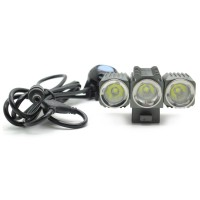 Trustfire Led Bicycle Light 3x Cree Xm-l2 1200 Lumens - Tr-d012