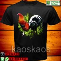 harga Kaos Ayam Bangkok Ekor Putih Hitam Ukuran XXL Tokopedia.com
