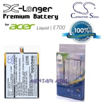 Battery for ACER Liquid E700 : Cameron Sino X-LONGER Premium 3000mAh