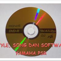 Style,Song Midi,MP3 Karaoke & Software Keyboard Yamaha Psr All Series