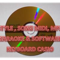 Style,Song Midi, Mp3 Karaoke & Software Keyboard Casio terupdate 2016