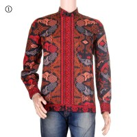 Baju Koko Batik Motif Songket Laksana Warna 1