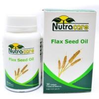 harga Nutracare Flax Seed Oil 30's, Omega 3 Nabati, Kolesterol Jantung Tokopedia.com