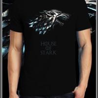 Game Of Thrones baju Kaos Gildan Distro   Stark   GOT   Custom Design
