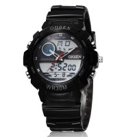 Jam Tangan Pria Wanita Original Ohsen Waterproof Anti Air Led Digital
