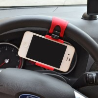 Jual Lazypod Setir Mobil Car Steering Mount Holder for Smartphone Murah
